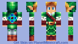 Link -=Shaded=- Minecraft Skin