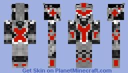 The Red Knight Minecraft Skin