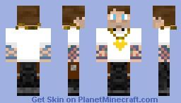 Mr.Thuggin'(Count Thugginula) Minecraft Skin
