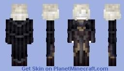 𝓡𝓸𝔃𝒆 || Game | The Fire Keeper Minecraft Skin