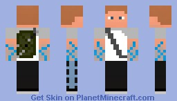 inFAMOUS 2 [HERO] Cole MacGrath Minecraft Skin