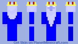 The Ice King Minecraft Skin