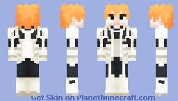 Ichigo Kurosaki | Complete Fullbring Minecraft Skin