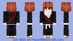 Ichigo Kurosaki (BLEACH) Minecraft Skin