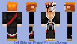 Ichigo Kurosaki Minecraft Skin