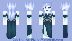 Icy laydee Minecraft Skin