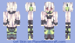 「Tomorrow and for forever, I'll put you in a daze.」 Minecraft Skin