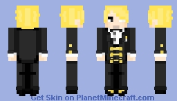 Request ~ Ichiji [Brotherhood AU] Minecraft Skin