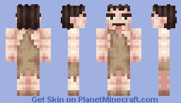 Caveman (updated) Minecraft Skin