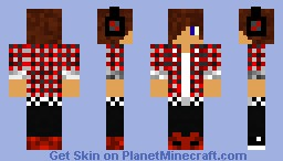 Emo Kid 1 Minecraft Skin