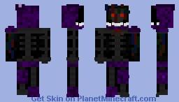 Ignited Bonnie Minecraft Skin