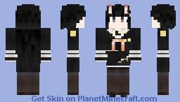 IJN Noshiro - Azur Lane Minecraft Skin