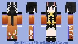IJN Ryūhō - Azur Lane Minecraft Skin