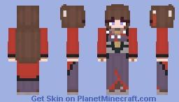 IJN Amagi Minecraft Skin