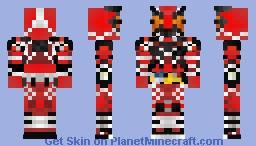 Kamen Rider Ikazuchi 仮面ライダー雷 Minecraft Skin