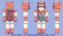 Red Tail Minecraft Skin