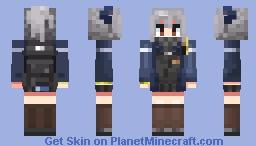 Arknights - Liskarm Minecraft Skin