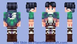 Levi Ackerman (Redone) Minecraft Skin