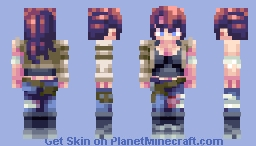 Diana Amberstone (District 2) - Romto's Hunger Games Contest entry Minecraft Skin
