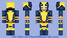 Wolverine (Custom Chibi) Minecraft Skin