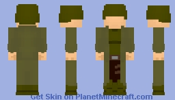The Question (WWII) Minecraft Skin