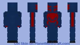Spider-Man 2099 Minecraft Skin