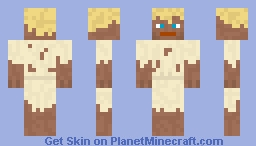Bob the Blonde Minecraft Skin