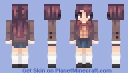 Wand|| Yuri DDLC Minecraft Skin