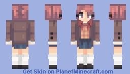Wand|| Natsuki DDLC Minecraft Skin