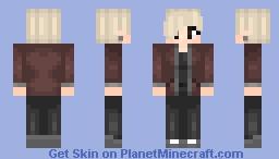 Leather Jacket // JaxSkins // Series 4 // 31 Minecraft Skin