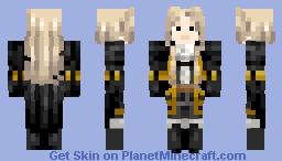 castlevania alucard Minecraft Skin