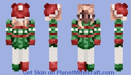 ♪𝕰𝖘𝖎𝖊♪ jingle, jingle Minecraft Skin