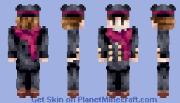 ♪𝕰𝖘𝖎𝖊♪ Super Dapper Christmas Man Minecraft Skin