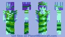 Queen of the Sea - Huevember #14 Minecraft Skin