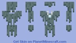 Stray Outerlayer Minecraft Skin