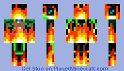 Incredible Minecraft Skin