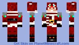 Asty, l'innommable version Noël Minecraft Skin