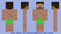 Jungle Steve Minecraft Skin