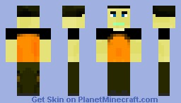 Cole (inFAMOUS 2) Minecraft Skin