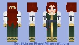 [LOTC] Green Sarafan Minecraft Skin
