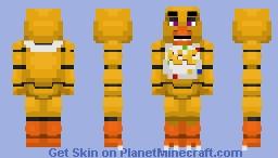 Chica The Chicken v2 -Five Nights at Freddy's Minecraft Skin