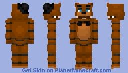 Freddy Fazbear v2 -Five Nights at Freddy's Minecraft Skin