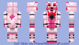 Funtime Foxy -Five Nights at Freddy's Sister Location Minecraft Skin