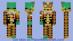 Serpent Mangle -FNaF Ar Special Delivery Minecraft Skin