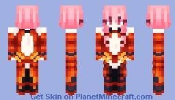 👑 inori yuzuriha || Guilty Crown 👑 Minecraft Skin