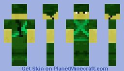 US Soldier in Vietnam War (Helmet looks much better in 3D) Minecraft Skin