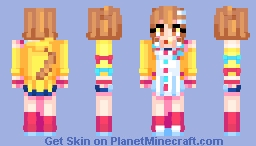 Inugami Korone Hololive Minecraft Skin