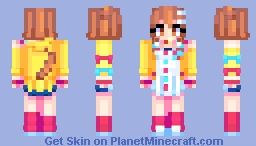 Inugami Korone Hololive (updated) Minecraft Skin