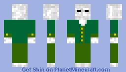 H.G. Wells Invisible Man with band-aids Minecraft Skin