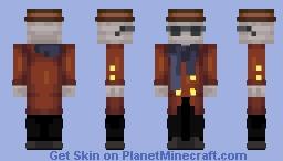 Invisible man (Book version) Minecraft Skin